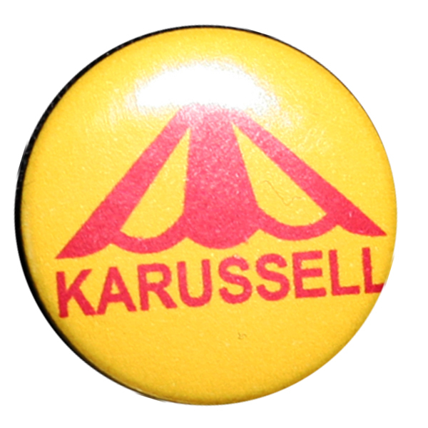 Karussell - Logo  Button 25mm